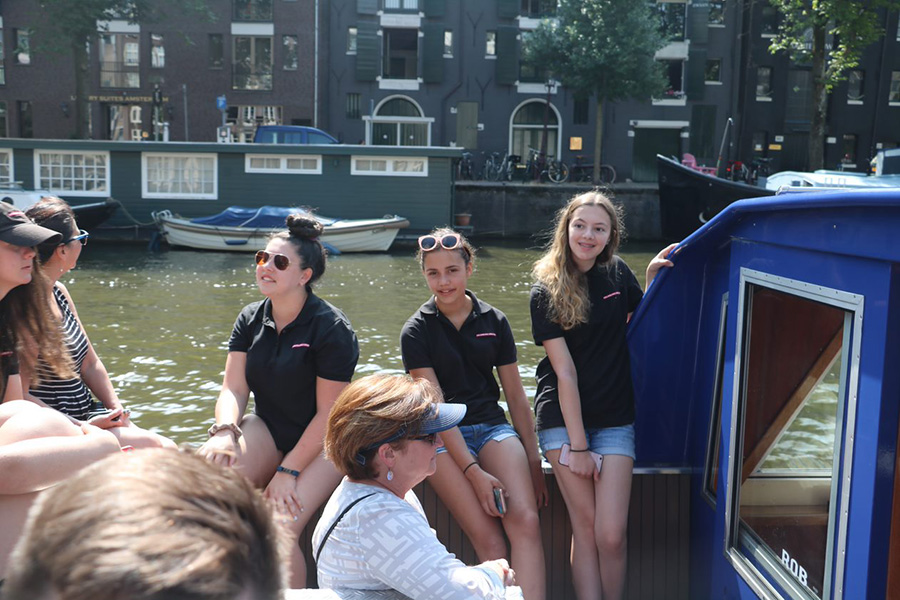 Enjoying a River Tour