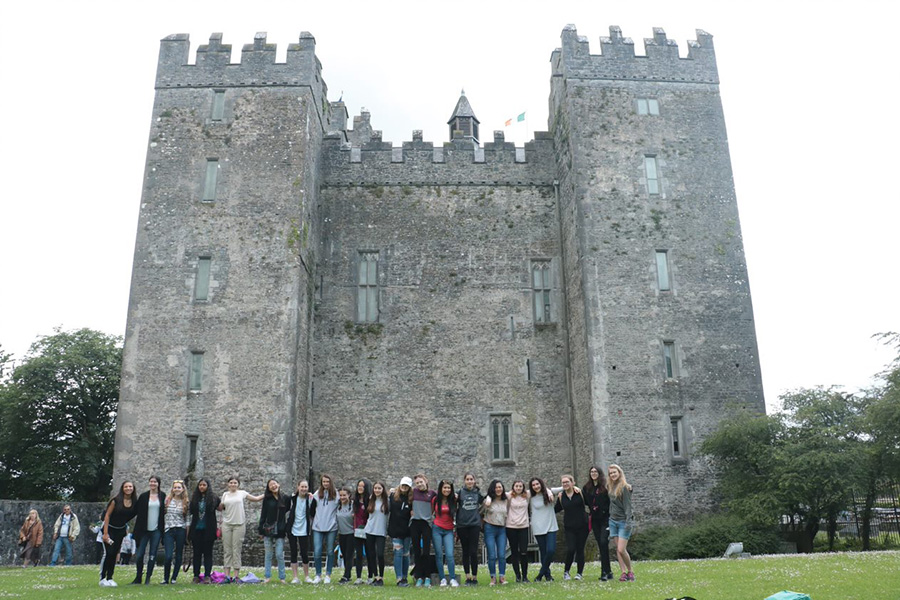 Touring an Irish Castle